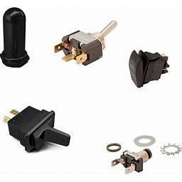 Switches, Solenoids, and Relays